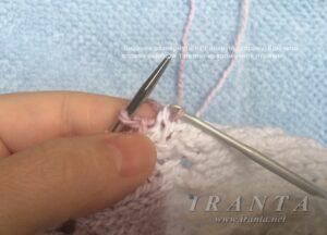 Рукав сверху вниз (из проймы/из оката). Имитация втачного рукава. Как вязать?