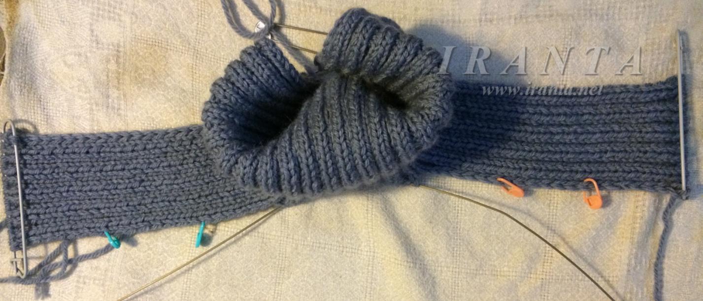 подробный мк вязание спицами свитер