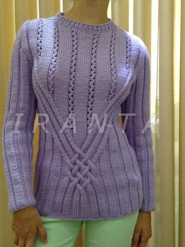 ирландский пуловер