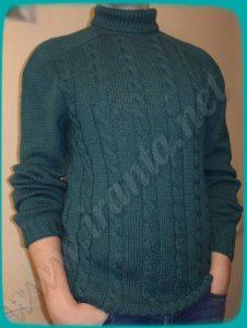 Вязанье спицами свитеров 48 50