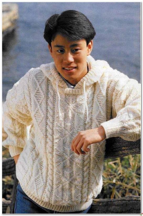 Картинки по запросу джемпер мужской с капюшоном спицами