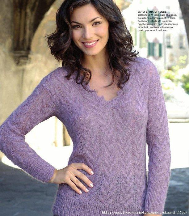 Картинки по запросу пуловер женский спицами реглан