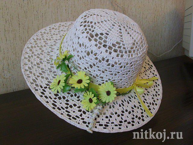 Картинки по запросу летняя шляпа крючком