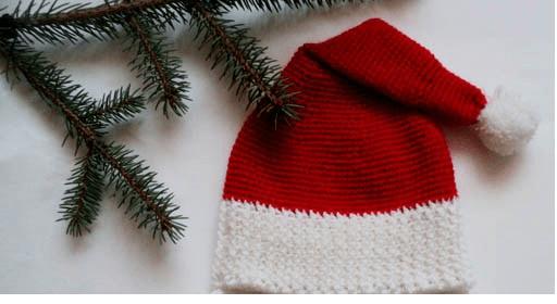 Картинки по запросу новогодний колпак крючком