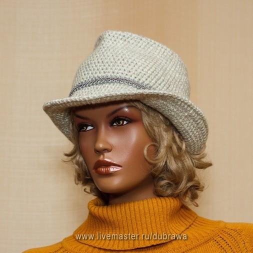 Картинки по запросу вязаная шляпа федора