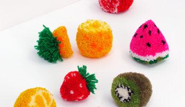 Вязаные фрукты. Пост. 2