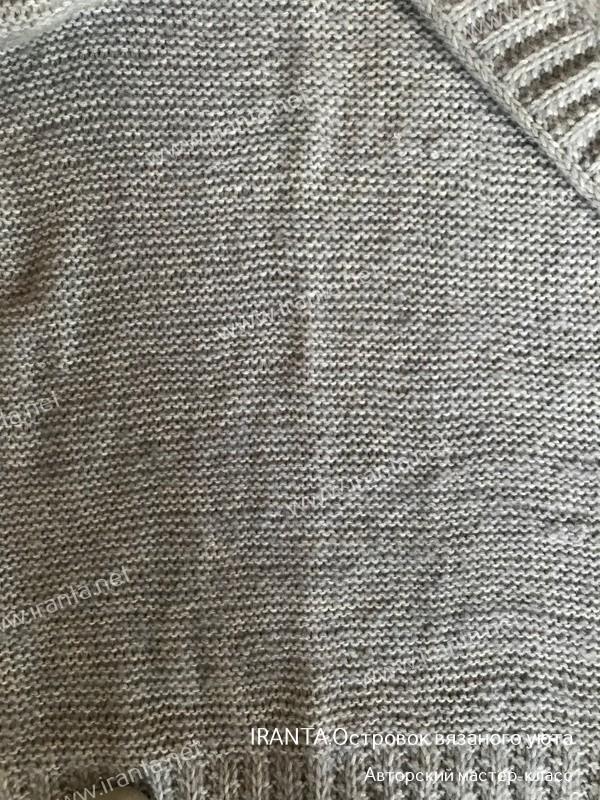 Соединение нитей в полотне. МК.