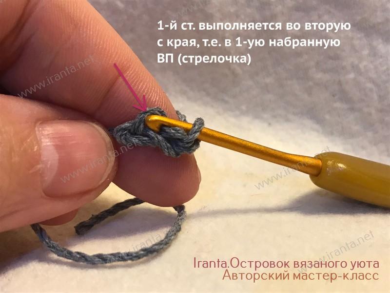 Набор петель крючком с имитацией СБН. Мастер-класс.