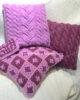 Набор диванных подушек «Ягодный микс с изюминкой»