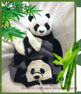 """Детское худи """"Бамбуковый медвежонок"""""""