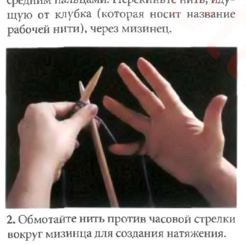 Два основополагающих способа вязания спицами: английский и континентальный