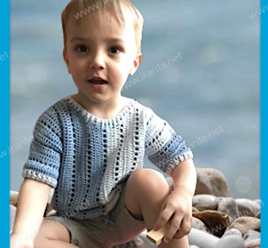 """Детская футболка на кулиске """"Два цвета"""""""
