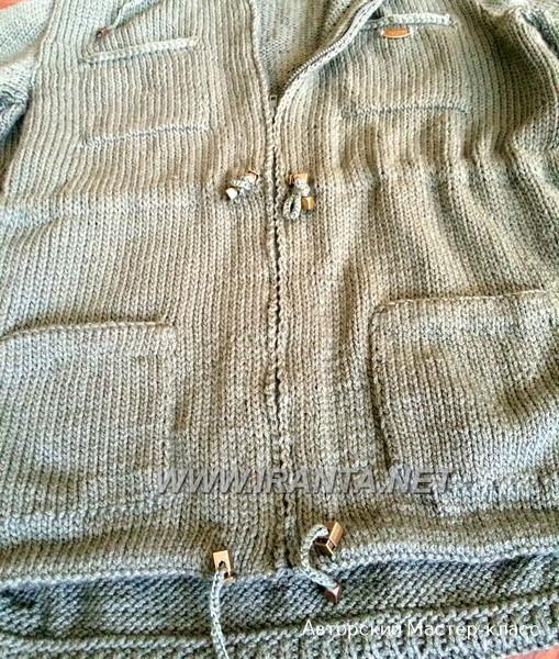 """Летняя куртка """"Парка"""" на молнии, с капюшоном"""