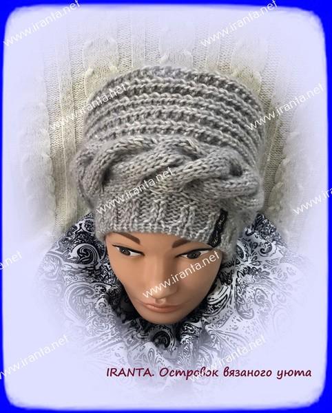 """Женская шапочка """"Скоро зима!"""""""