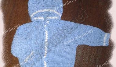 """Хлопковый костюм для малыша """"Небесный лед"""""""