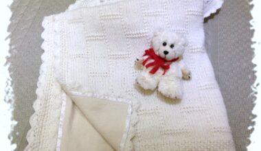 Плед-одеяло для малыша с байковой подкладкой