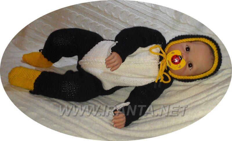 """Комбинезон для малыша """"Пингвинчик"""""""