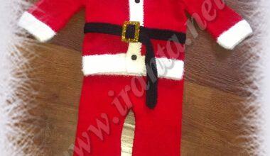 "Новогодний костюм для малыша ""Мой Санта"""