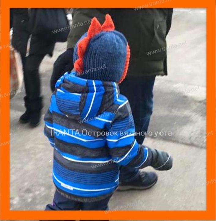 """Двойной шлем для мальчика """"Дракоша"""""""