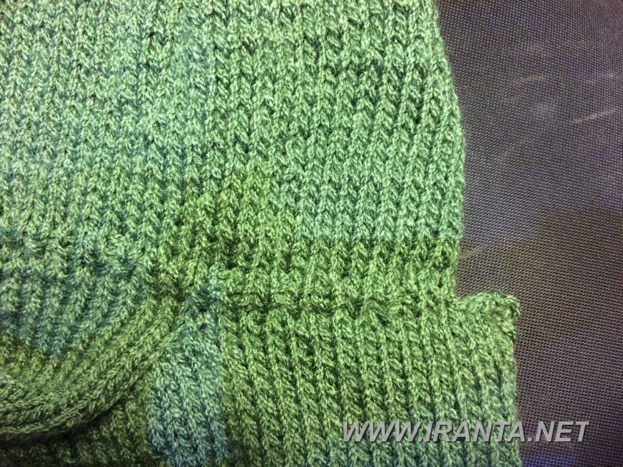 Оформление горловины при вязании капюшона/воротника