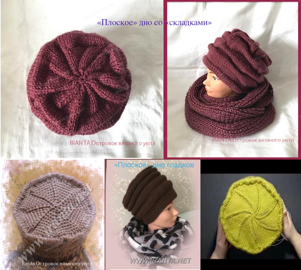 Как рассчитать и связать донышко (макушку) шапки/берета/шляпы. Часть 1.